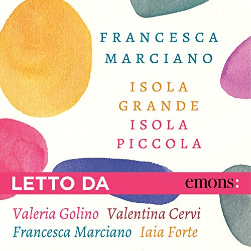 Isola grande Isola piccola audiobook cover art