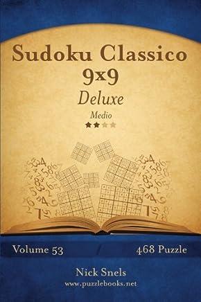 Sudoku Classico Medio: 468 Puzzle: Volume 53