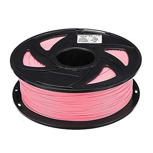 Fengbingl-office Filament Durable pour imprimante 3D Rose Clair 1KG PLA for imprimante 3D Filament (Couleur : Rose, Taille : 1.75mm)