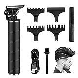 Elektrischer Haarschneider RIRGI 0mm T-Blade Trimmer USB-Wiederaufladbar Profi Haarschneidemaschine...