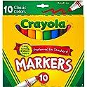 10-Count Crayola Broad Line Markers