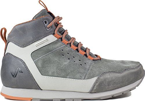Forsake Driggs - Men's Waterproof Leather Non-Slip Hiking Sneakerboot (10, Steel)