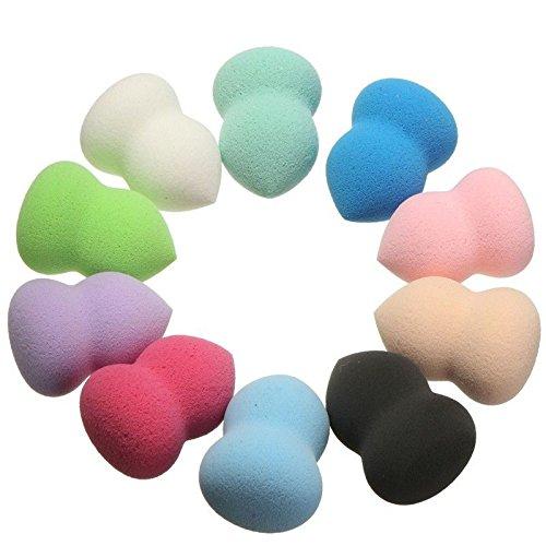 takestop® Spons van badstof set 2 stuks met YF blender Trucco gezicht make-up blush poeder kleur casual