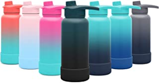 Simple Modern Summit Water Bottle with Chug Lid & Protective Boot - Wide Mouth Vacuum Insulated - Multiple Sizes and Colors with Customizable Options