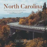"""North Carolina 2022 Calendar: From January 2022 to December 2022 - Square Mini Calendar 7x7"""" - Small Gorgeous Non-Glossy Paper"""