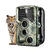 """ENKEEO Wildkamera PH760 - Tierkamera 16MP 1080P Full HD Fotofalle 47pcs IR LEDs 20m Infrarote Nachtsicht IP56 wasserdicht mit 0,2 Sekunden Triggerzeit 2,4"""" LCD Tierbeobachtungskamera -"""