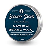 Scruffy Jack's Premium Beard Balm/Wax for Men...