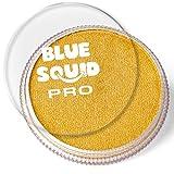 Blue Squid Pro - Pintura facial (30 g), color dorado metálico (30 g), profesional a base de agua, suministros de maquillaje para adultos, niños y SFX