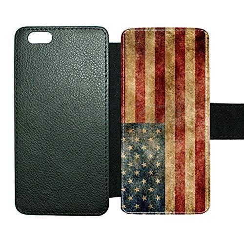 Usar como Apple iPhone 6 4.7 para Chicos Ranura para Tarjeta De Soporte Amazonas Impresión American Flag 1