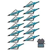 Jocoo 12PK 3 Blades Hunting Broadheads...