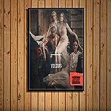 Cartel De La Cubierta Del Álbum De Música Kanye West La Vida De Yao Ye Hip Hop Rap Art Decoración Del Hogar Decoración De La Pared De La Habitación Lienzo Pintura Sin Marco 40X60Cm A7070