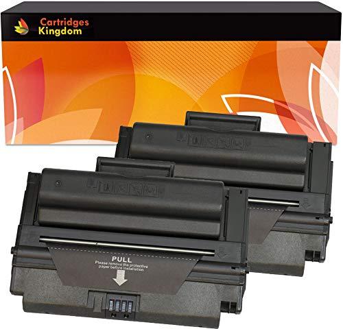 Cartridges Kingdom 2X MLT-D208L Schwarz Toner kompatibel für Samsung SCX-5635FN, SCX-5835FN, ML-1635, ML-3475