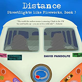 Distance audiobook cover art