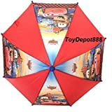 Umbrella - Disney - Cars - McQueen w/Friends Red Kids New 674533