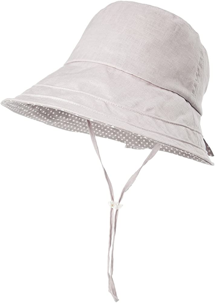 Comhats Ladies UV Protection Packable Sun Hat for Women Wide Brim Summer Garden Shade Bucket Hat 54-60CM