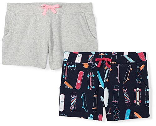 Amazon Brand - Spotted Zebra Girls French Terry Knit Shorts