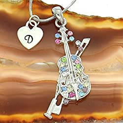gifts for violin payers ~ necklace