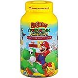 L'il Critters Super Mario Power Ups Complete Multivitamin Gummies, 190ct
