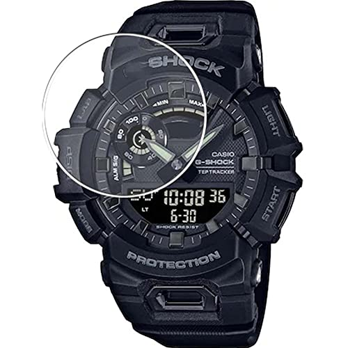 Vaxson 3 Unidades Protector de Pantalla, compatible con Casio G-Shock GBA900 GBA-900 [No Vidrio Templado] TPU Película Protectora Film Guard
