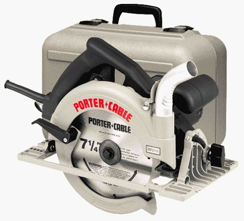 PORTER-CABLE 347K 7-1/4-Inch Blade-Right Circular Saw Kit