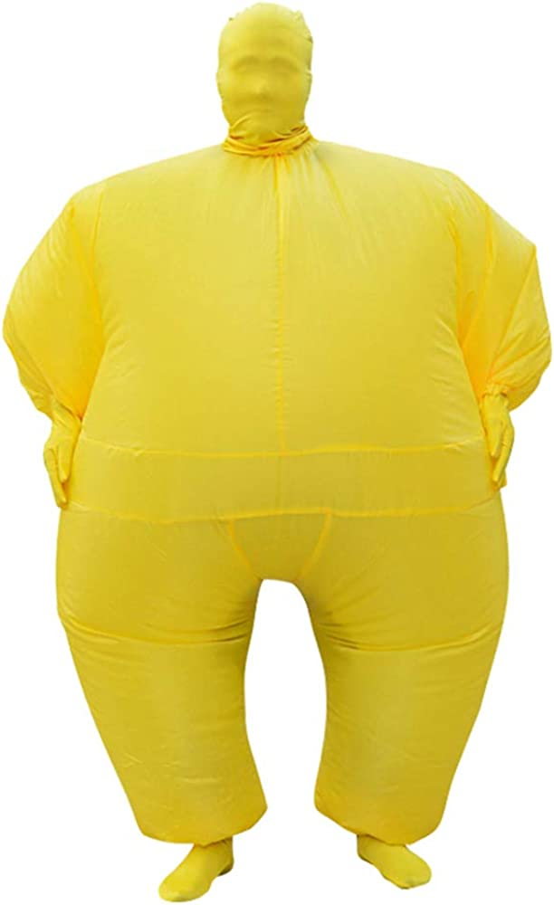 New mail order Fat Suits for Adults Inflatable Masquerade up Blow Luxury Suit Costume