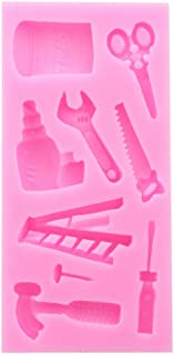 Shangwelluk Moule /à Fondant en Forme de G/âteau en Silicone 3D Moules Silicone G/âteau Mousse P/âtisserie Accessoire Outils de Cuisine Cadeau