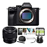 Sony Alpha a7R IV Mirrorless Digital Camera Body with 50mm f/1.8 Lens and Software Suite Bundle (8 Items)