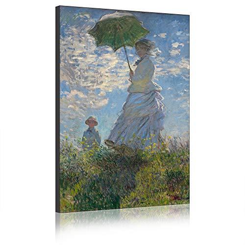 Five-Seller Donne E Bambini di Claude Monet Quadri Dipinti Famosi Riproduzioni Artistiche Stampate su Tela Opere d'Arte di Parete per Decorazioni per La Casa (40_x_60_cm)
