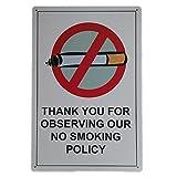 IPEKOO Thank You für Beobachtung Unsere No Smoking Politik