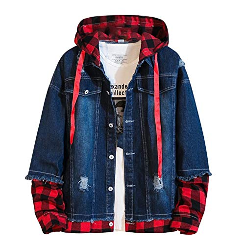 SHANGYI Jeansjas Boy Junior Teen Jacket Street Kostuum Fashion Jacket Men