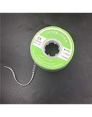 NAttnJf Duradero fácil de usar portátil Herramienta dental Ortodoncia Elástica Clara Ultra Power Cadena de goma 3 tipos Largo