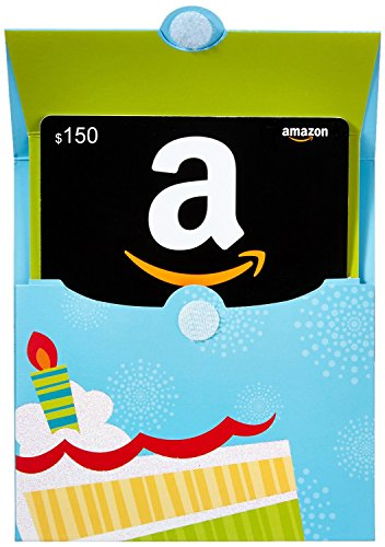 Amazon.ca $150 Gift Card in a Birthday Reveal