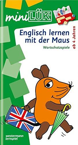 miniLÜK-Übungshefte: miniLÜK: Kindergarten/Vorschule - Englisch: Englisch lernen mit der Maus