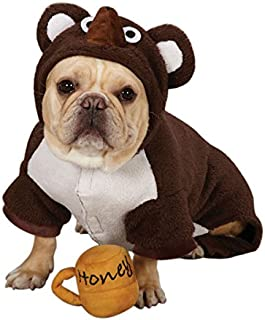 Zack & Zoey Polyester Lil Honey Bear Dog Costume, Small, Brown