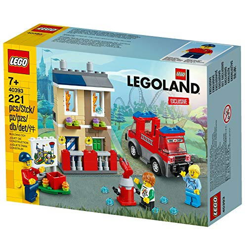 LEGO® LEGOLAND® Feuerwehrschule (40393) Exclusiv Spielzeug Park NEU & OVP