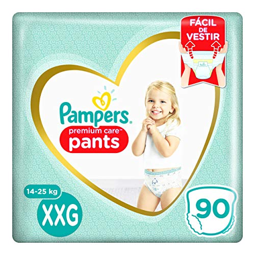 Fralda Pampers Pants Premium Care XXG 90 unidades, Pampers