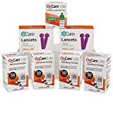 ijCare(200strips)Bundle n Save Pack for Oh'Care Lite Blood Sugar Testing Monitor – Glucose Test Strips, Lancets, and Control Solution for for Blood Testing – Accurate and Affordable Diabetic Supplies