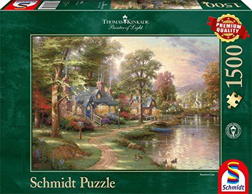 Schmidt Spiele - Rompecabezas Thomas Kinkade, 1500 Piezas (57452)