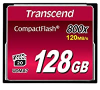 Transcend 800倍速CFカード 128GB TS128GCF800
