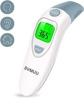 SVMUU Termómetro de oído Médica Termómetro de frente y o