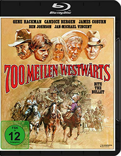 700 Meilen westwärts (Bite the Bullet) [Blu-ray]