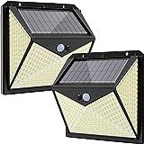 DOOK Luz Solar Exterior 350 LED, [Versión Innovadora 2200mAh]...