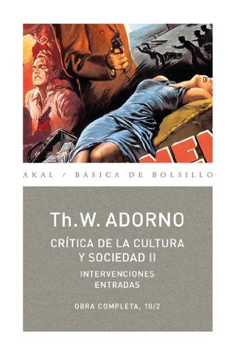 Crítica de la cultura y sociedad II: 72 (Básica de