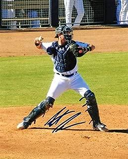 Autographed Austin Allen Photo - San Diego Padres 8x10 W coa - Autographed NFL Photos