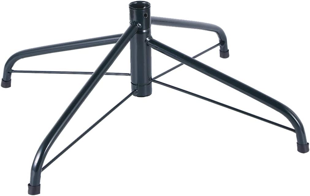 PRETYZOOM Christmas Tree Stand Arti Inventory cleanup selling sale Iron Cast Folding Selling and selling