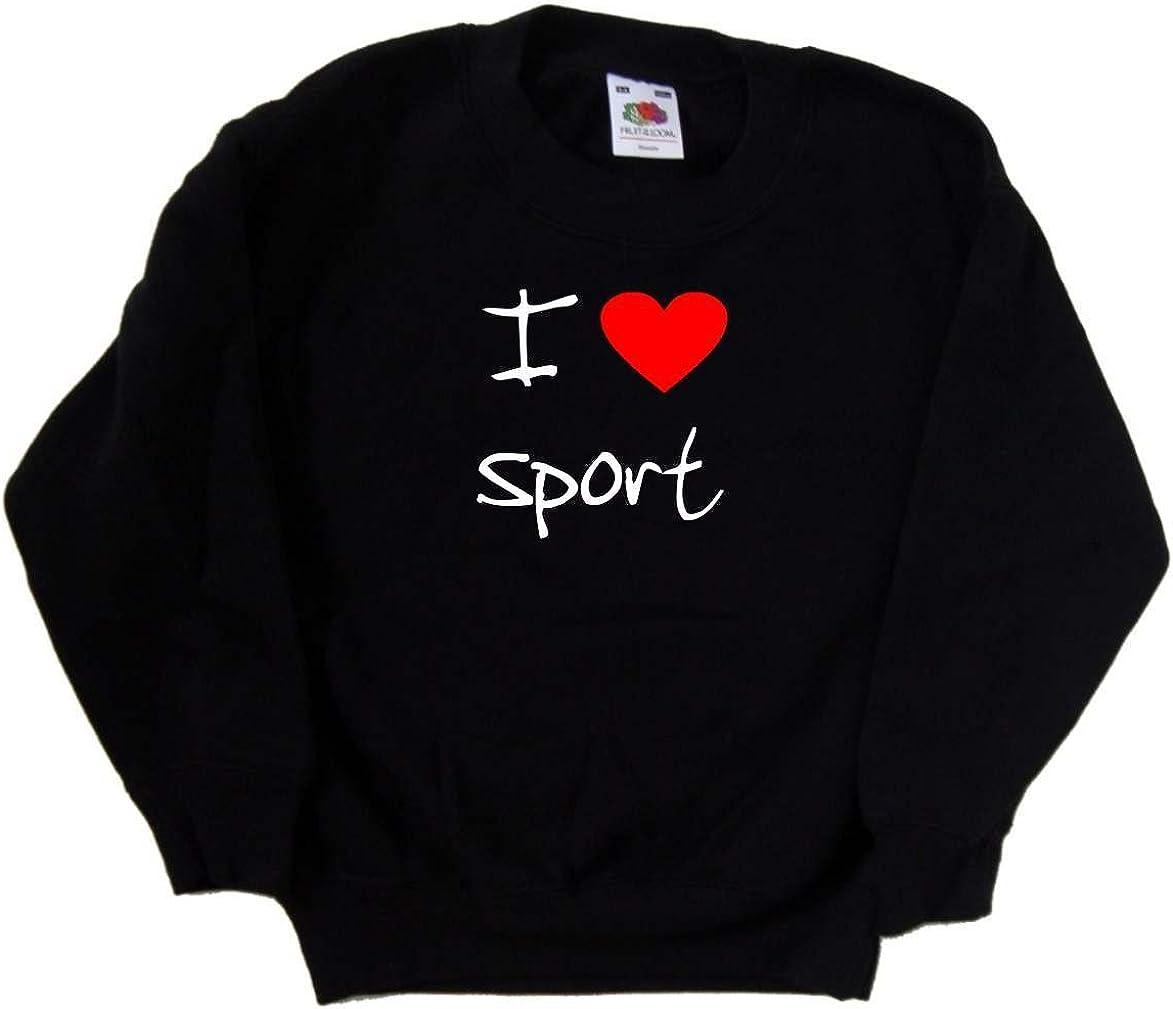 I Love Heart Ranking TOP19 Sport Kids Black ! Super beauty product restock quality top! Sweatshirt