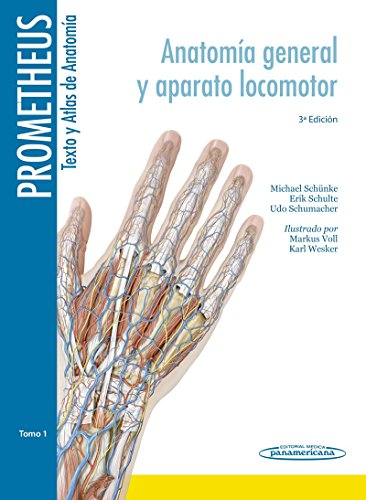 Colección Prometheus. Texto y Atlas de Anatomía. 3 Tomos