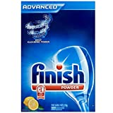 Finish Powder Dishwasher Detergent, Lemon Fresh Scent, 75 oz(Pack of 6)