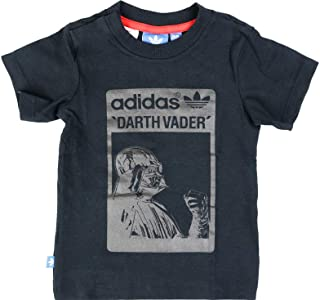 adidas Star Wars Kids T-Shirt Darth Vade Camiseta para Niños