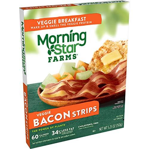 MorningStar Farms, Veggie Breakfast Bacon Strips, 5.25 oz (Frozen)